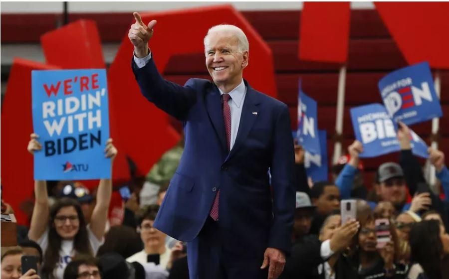 """John Biden, candidato demócrata a la Casa Blanca: """"No llevaré de vuelta la embajada a Tel Aviv""""."""