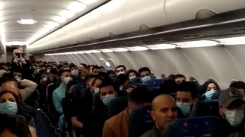 Vuelos de repatriación de israelíes de diferentes lugares de Europa debido a la propagación del coronavirus.
