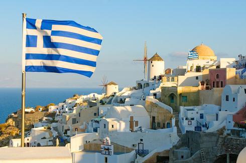 Una aldea griega. El país viene de sufrir un duro golpe económico.