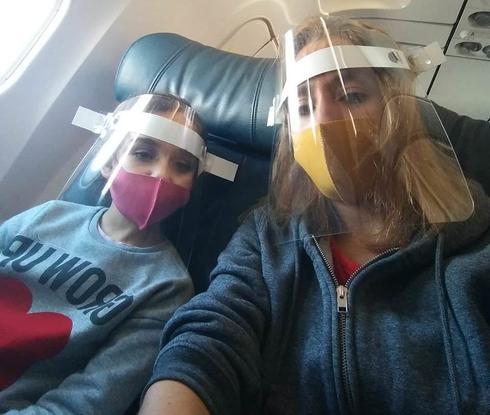 Última selfie en Argentina: Magalí y su familia comenzarán una nueva etapa de sus vidas en Israel.
