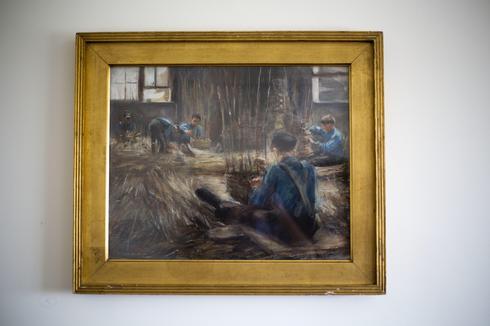"""""""Basket Weavers"""", una de las obras de arte recuperadas que fueron saqueadas por los nazis"""