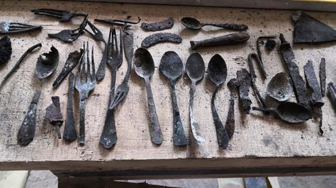 Objetos encontrados en el campo de concentración de Auschwitz.