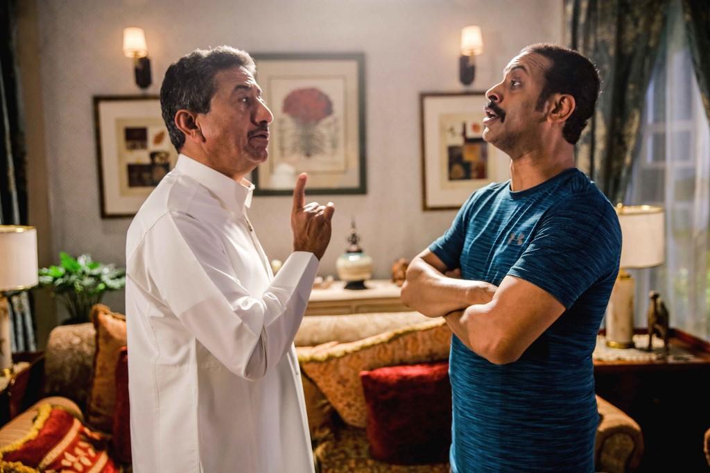 """Escena de la serie saudita """"Salida 7""""."""