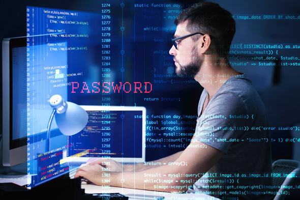 Imagen ilustrativa de un hacker.