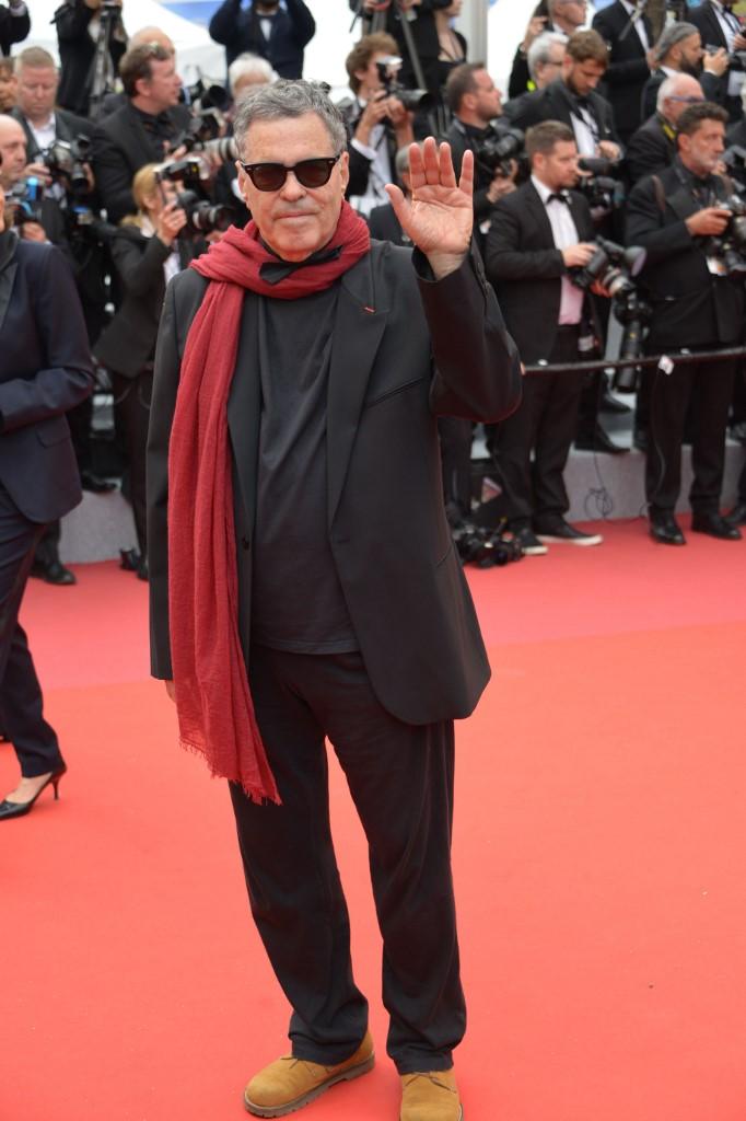 Amos Gitai en el festival de Cannes del 2019.