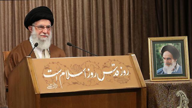 Ali Jamenei, líder supremo de Irán, nuevamente emitió conceptos amenazantes hacia Israel.