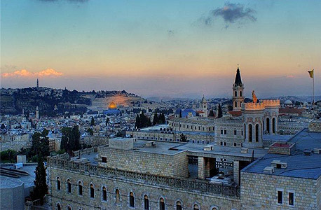 Vista de Jerusalém.