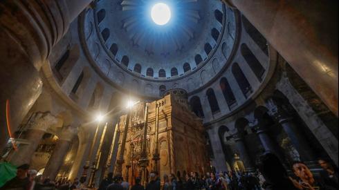 A Igreja do Santo Sepulcro em Jerusalém