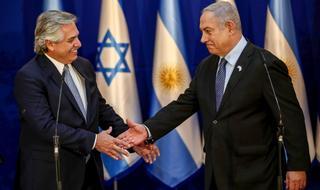 El presidente argentino visitó Israel en enero, oportunidad en que se reunió con Benjamín Netanyahu.