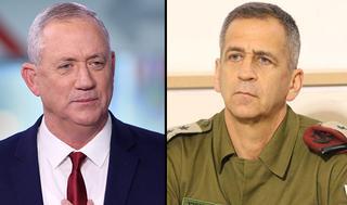 En su carácter de ministro de Defensa, Gantz le pidió a Kochavi que prepare a las FDI ante una posible anexión en Judea y Samaria.
