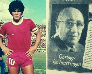 Maradona y una historia poco conocida con un sobreviviente del Holocausto.