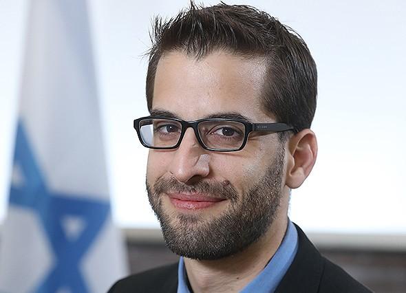 Yoav Saidel, jefe de la Misión Económica de Israel en Singapur.