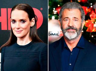 Winona Ryder acusó a Mel Gibson de antisemita