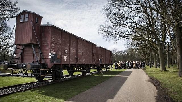 """Ignoran a la comunidad que fue destruida durante el Holocausto."""" Ferrocarril de Westerbork."""