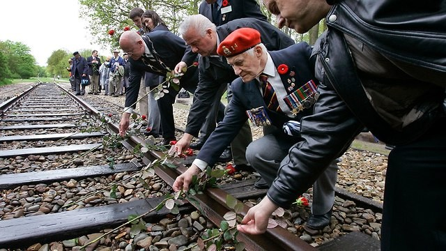 Ferrocarril del Campo de Concentración de Westerbork.