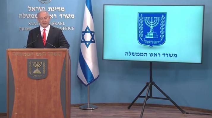 Netanyahu anunció nuevas medidas contra el COVID-19.