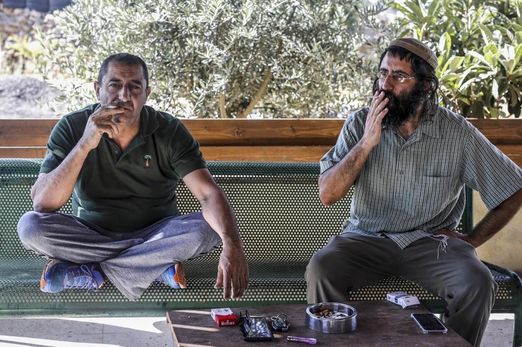 Khaled Abu Awad e Shaul Judelman. O Acordo do Século