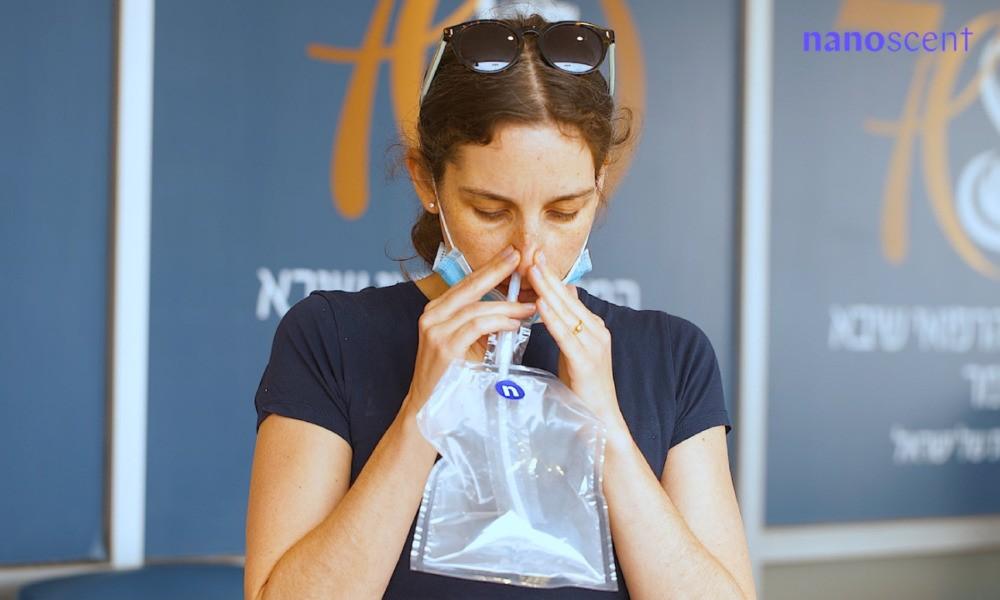 La prueba de olfato de NanoScent recibe el apoyo del Ministerio de Defensa en el contexto de la segunda ola de COVID-19 en Israel.