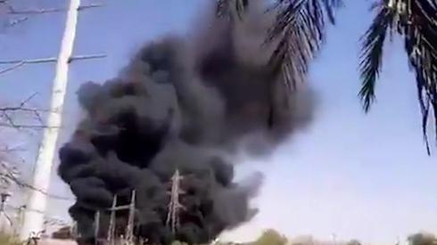 Incendio en una planta nuclear subterránea en Natanz, Irán.