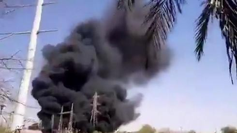 Incendio en una instalación nuclear subterránea en Natanz, Irán, a principios de julio.