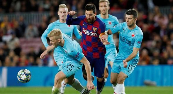 Leo Messi, estrella del Barcelona.