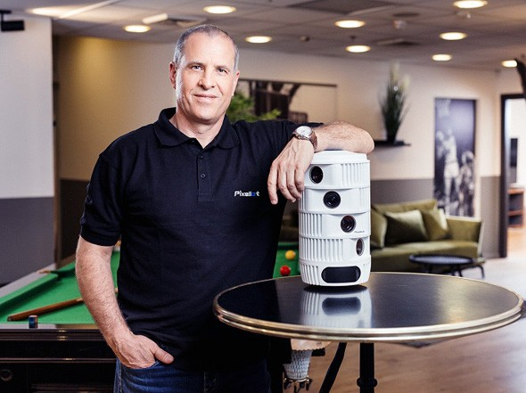 El CEO de Pixellot, Alon Werber.