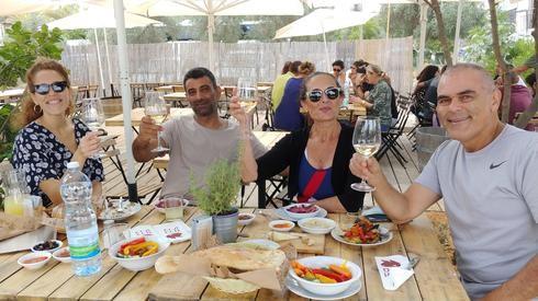 Un buen lugar para un descanso y un brunch: la bodega Barak en el moshav Beko´a.