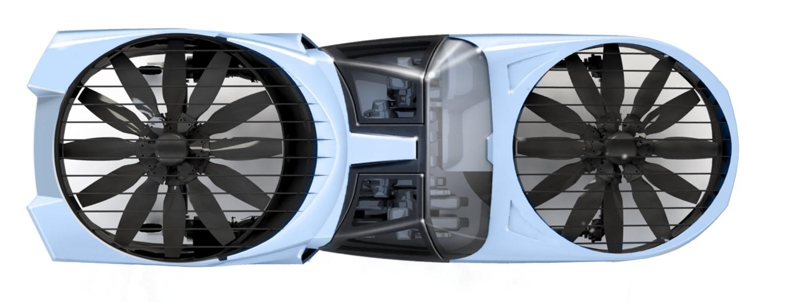 CityHawk tendrá un sistema de hélice Fancraft.