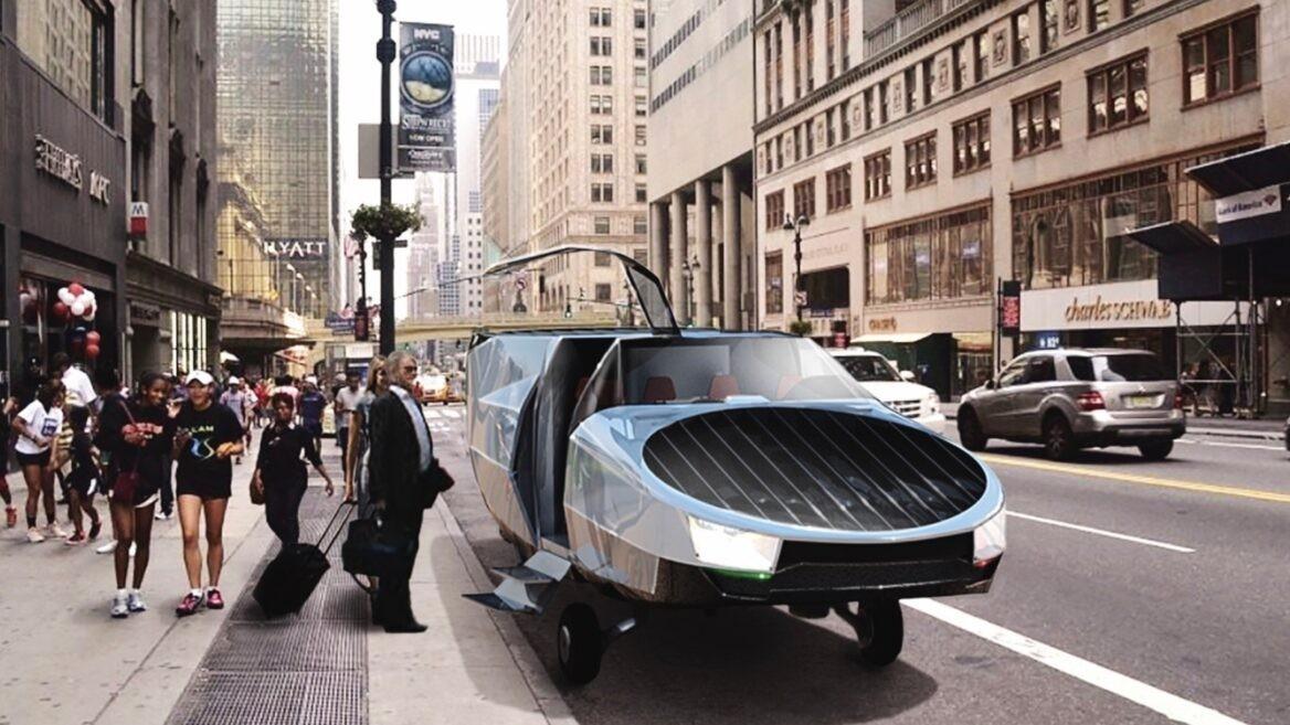 """CityHawk, el """"auto volador"""" creado por Urban Aeronautics."""