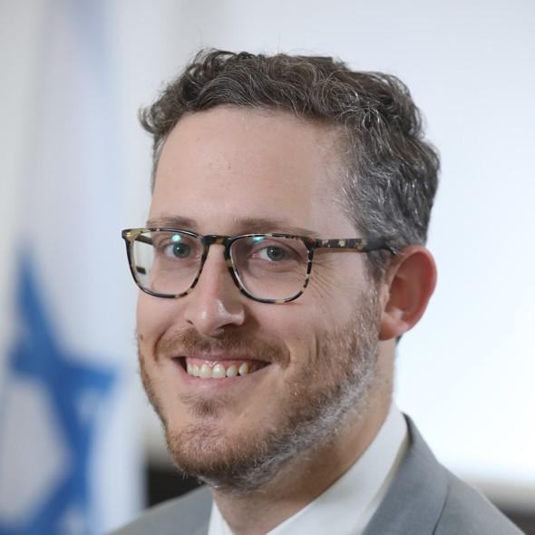 Hadar Shor, jefe de la Misión Económica y Comercial de Israel a Chile.