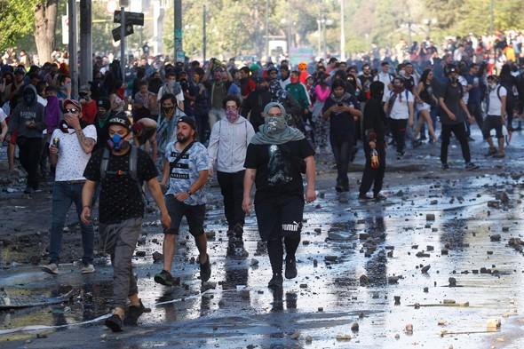 Chile atravesó por gran cantidad de protestas sociales durante octubre pasado.
