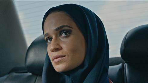 La actriz Niv Sultan en la serie 'Teherán'.