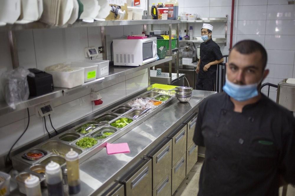 El interior del restaurante también cumple con estrictas medidas higiénicas.