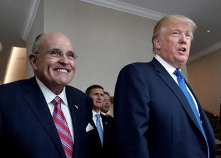 Rudy Giuliani, abogado personal de Donald Trump y ex alcalde de Nueva York.