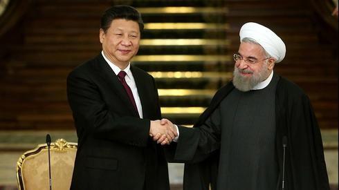 Xi Jinping Rouhani