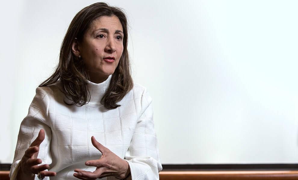 Ingrid Betancourt, excandidata a la presidencia de Colombia y exrehén de las FARC.