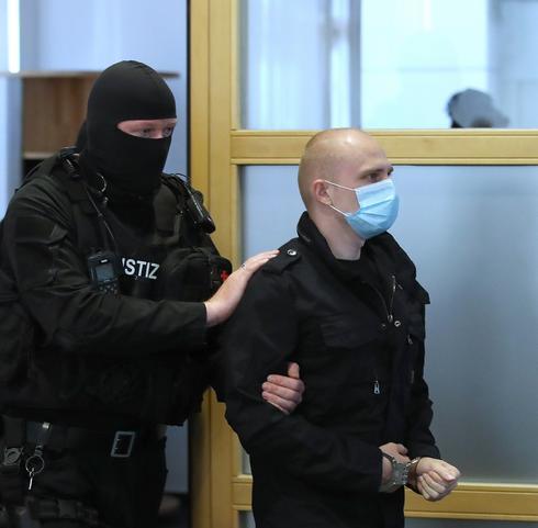 El acusado en el tribunal alemán.