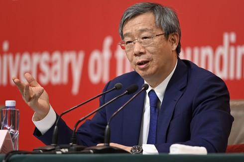 Yi Gang, gobernador del Banco Popular de China.
