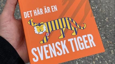 "Tapa del libro ""Un tigre sueco""."