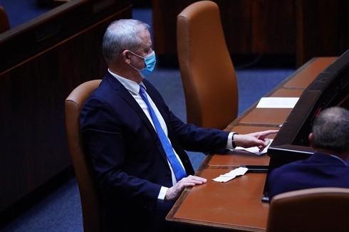 Benny Gantz fue el principal blanco de críticas de los parlamentarios ultraortodoxos que forman parte de la coalición.