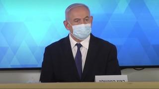 Netanyahu presentó a Gamzu y realizó anuncios vinculados al coronavirus en Israel.