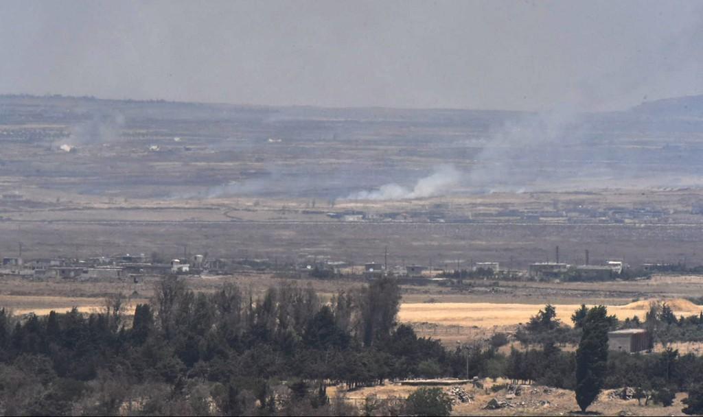 Frontera Israel Siria.