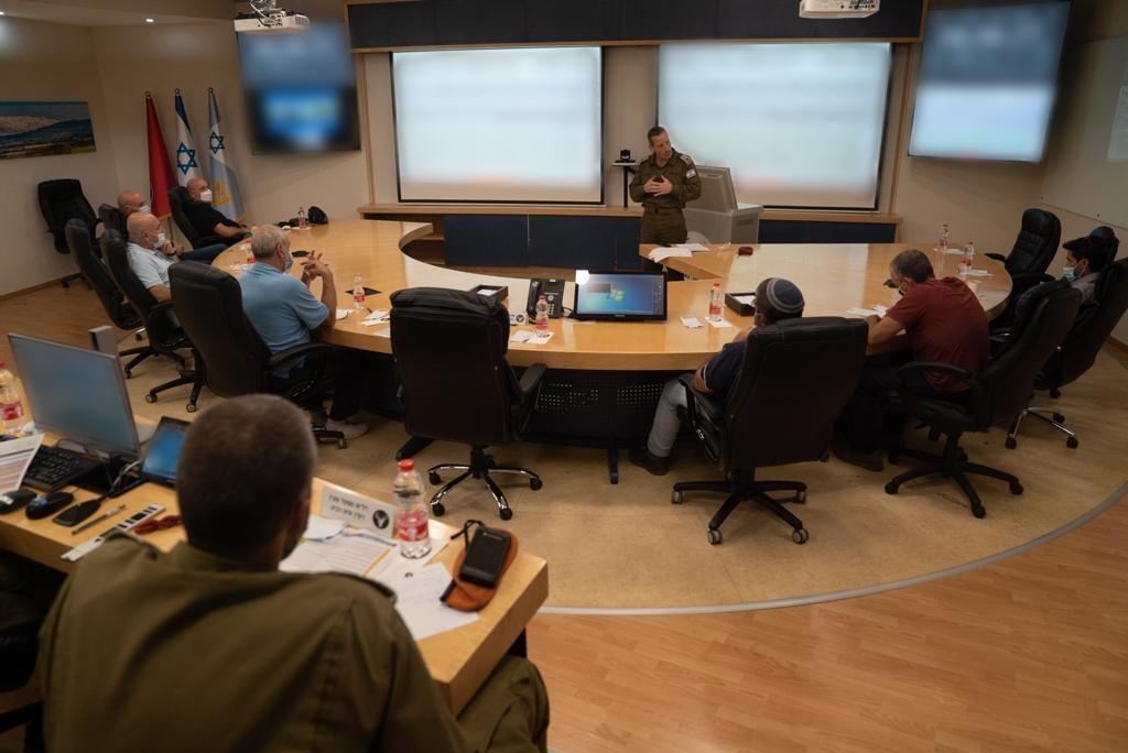 Reunión del Comando del Norte.