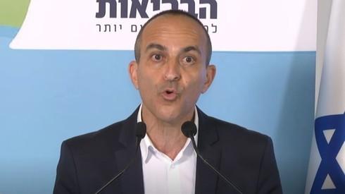 Roni Gamzu, director del Proyecto Coronavirus de Israel.