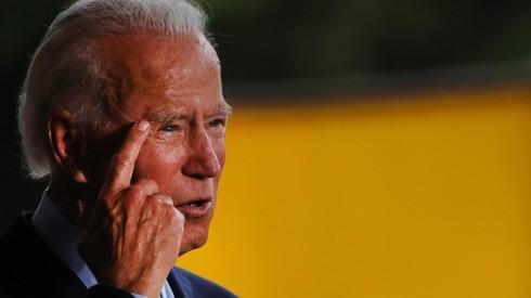 Joe Biden, candidato a presidente de Estados Unidos por el partido demócrata.