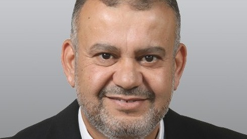 Walid Taha, parlamentario de la Lista Conjunta Árabe.