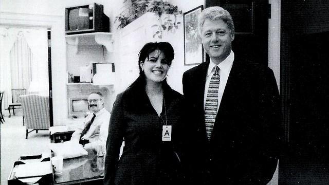 Clinton y Lewisky