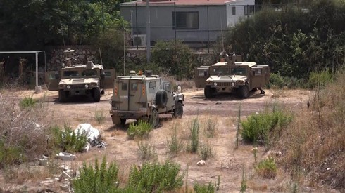 La cancha de fútbol que se convirtió en un puesto de avanzada militar.