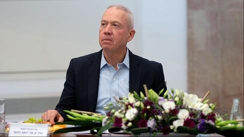 Ministro de Educación Yoav Galant.