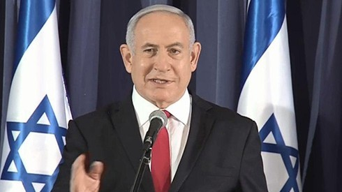 Primer ministro, Benjamín Netanyahu.